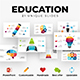 Free Download Education. Infographic templates. PowerPoint. Updatable! Nulled