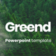 Free Download Greend Powerpoint Presentation Template Nulled