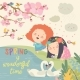 Little Girls and Birds Playing in the Spring - GraphicRiver Item for Sale
