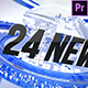 Free Download 24 Broadcast News Complete TV Package Nulled