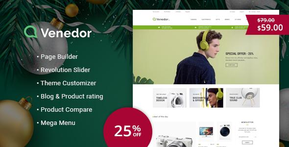 Venedor - Responsive Prestashop 1.7 Theme - Shopping PrestaShop