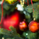 Free Download Christmas toys hanging on the Christmas tree Nulled
