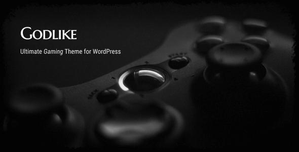Godlike - Game Theme for WordPress - Creative WordPress