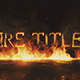 Free Download Fire Titles Mogrt Nulled