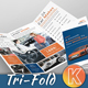 Auto Car Tri-fold Brochure - GraphicRiver Item for Sale