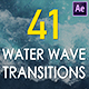 Realistic Water Wave Transitions Pack - VideoHive Item for Sale