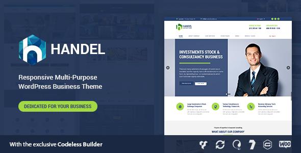 Handel - Responsive Multi-Purpose Business Theme - Business Corporate