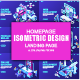 Isometric Landing Page Template - GraphicRiver Item for Sale
