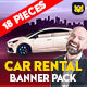 Free Download Car Rental banner Nulled