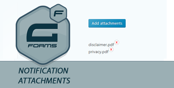 Gravity Forms Notification Attachment - CodeCanyon Item for Sale