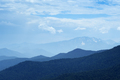 Mountain layers under blue sky - PhotoDune Item for Sale
