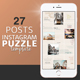 Free Download Instagram Puzzle Template Nulled