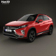Mitsubishi Eclipse Cross 2017 - 3DOcean Item for Sale