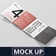 Roll-Fold Brochure Mockup - 8.5x11 inch US Letter - GraphicRiver Item for Sale