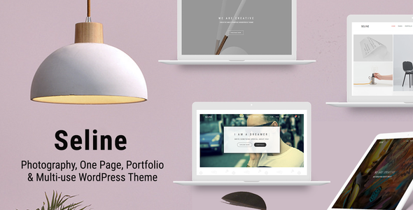 Seline - Creative Photography & Portfolio WordPress Theme - Creative WordPress