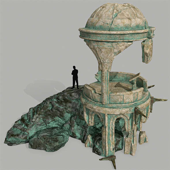 Old_Temple - 3DOcean Item for Sale