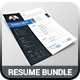 Resume & Cover Letter Bundle - GraphicRiver Item for Sale