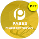 Free Download Pabes Market Presentation Template Nulled