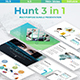 Hunt 3 in 1 - Bundle Business & Creative Powerpoint Template - GraphicRiver Item for Sale
