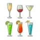 Alcohol Glass Set - GraphicRiver Item for Sale