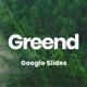 Greend Google Slides - GraphicRiver Item for Sale