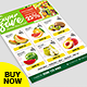 Free Download Supermarket Promotion Flyer - Product Catalog Flyer Nulled