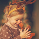 Free Download Happy boy in raindeer costume Nulled
