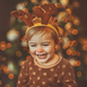Happy baby celebrating Christmas - PhotoDune Item for Sale
