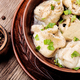 Ukrainian pelmeni on plate - PhotoDune Item for Sale