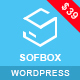 Sofbox - WordPress Software Landing Page - ThemeForest Item for Sale