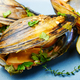Delicious seafood mussels - PhotoDune Item for Sale