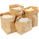 Flour and flour mixture in paper bags - PhotoDune Item for Sale