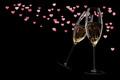 champagne glasses Valentine's Day clink glasses - PhotoDune Item for Sale