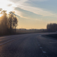Country highway, freshly repaired, sunny autumn day - PhotoDune Item for Sale