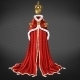 Medieval Monarch Ceremonial Cloth Realistic Vector - GraphicRiver Item for Sale