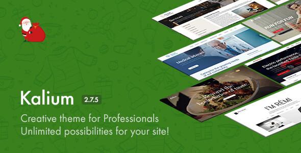 Kalium - Creative Theme for Professionals - Portfolio Creative