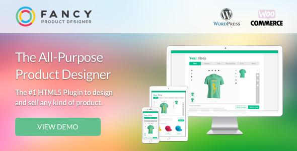 Fancy Product Designer | WooCommerce WordPress Nulled