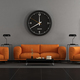 Modern living room with orange furniture - PhotoDune Item for Sale