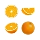 Set of Isolated Colored Orange - GraphicRiver Item for Sale