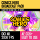 Comics Hero (Broadcast Pack) - VideoHive Item for Sale