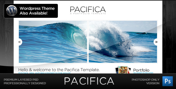 Free Download Pacifica Theme - The PSD Version Nulled Latest Version