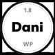 Dani - A Storming Portfolio & Shop WordPress Theme - ThemeForest Item for Sale