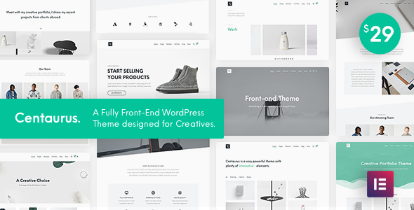 Centaurus - Creative Multipurpose WordPress Theme - Portfolio Creative