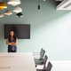 Free Download Portrait Of Young Businesswoman Standing By Boardroom Table At Graduate Recruitment Assessment Day Nulled