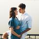 Young Caucasian Man Hugging Pregnant Wife - PhotoDune Item for Sale