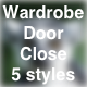 Wardrobe Cupboard Door Close Soft Heavy