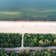 Seashore and green trees from top view. - PhotoDune Item for Sale