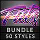 Free Download 50 Text Effects - Bundle Vol. 07 Nulled