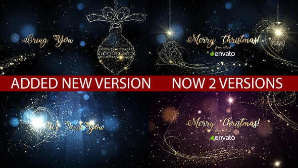 Christmas Full HD Video Card After Effects Template