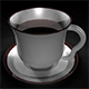 Coffee Cup and Saucer, Quad Draw Topology - 3DOcean Item for Sale